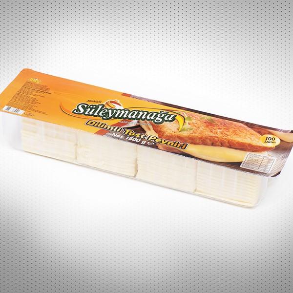 Süleymanağa Dilimli Tost Peyniri 1500gr